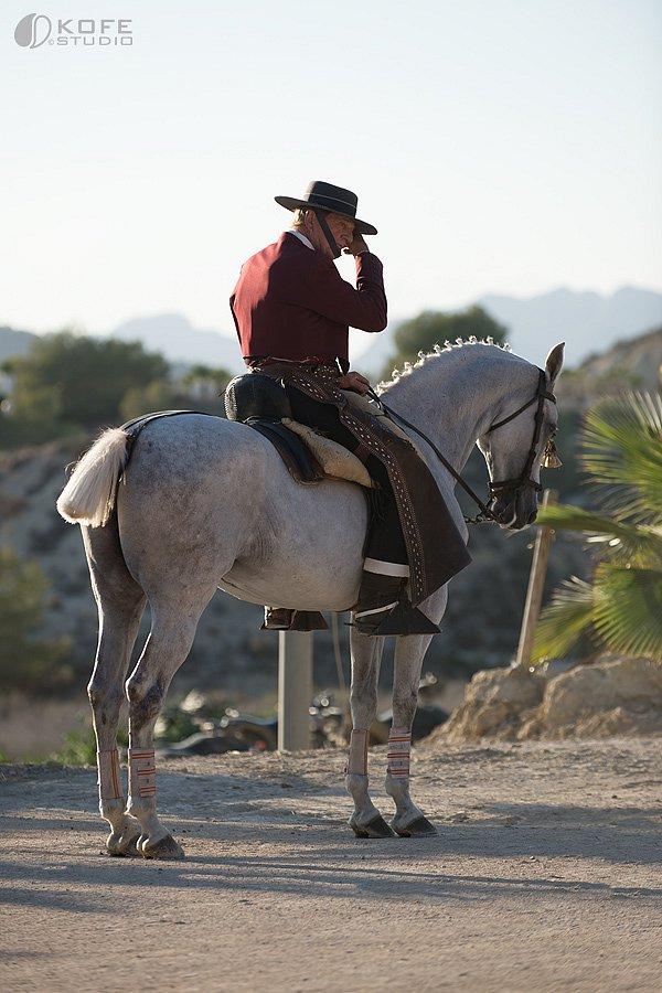 """Horse & Flamenco show Antonio Piqueras """"El Patas"""" Spain, 2015"""