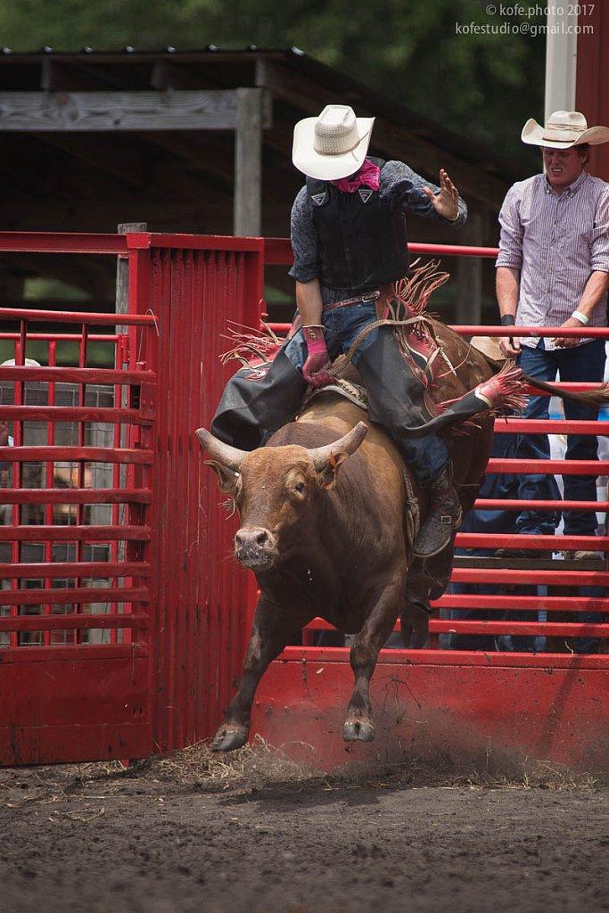 Cracker Day 2017. DeLand. Bull riding.