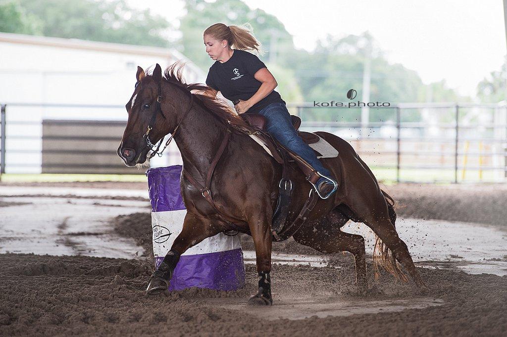 Jimmy's Bucking Barrel Race Benefit Rodeo.