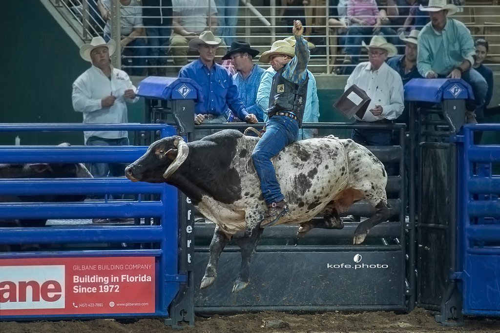 James Barfield. Silver Spurs Rodeo. October 7th, 2017. Kissimmee, Florida
