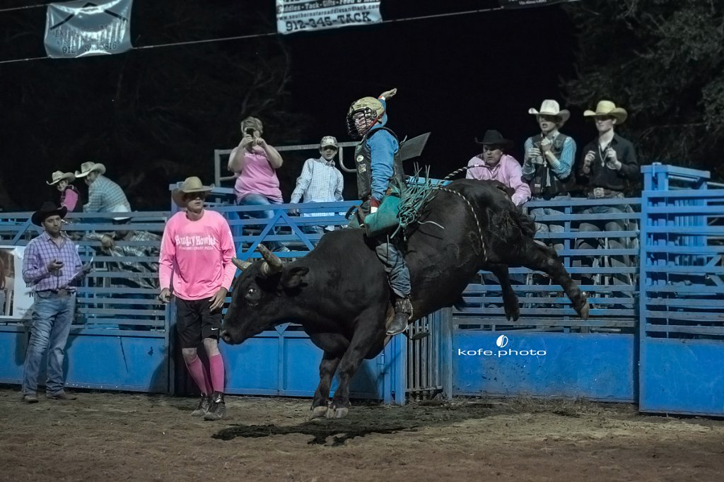 Ride Right Roughstock Rodeo. Ambrose, Georgia.